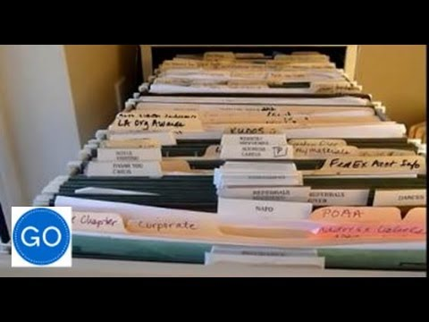 How to Organize Your Filing Cabinet Files