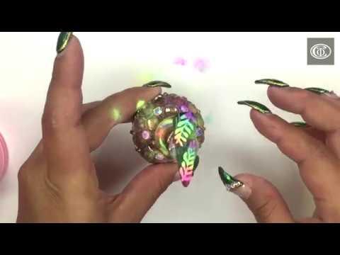 PolyDip Dip Powder - Tropical Neon Nail Art!