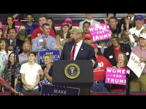 LIVE: President Trump in Johnson City, TN!