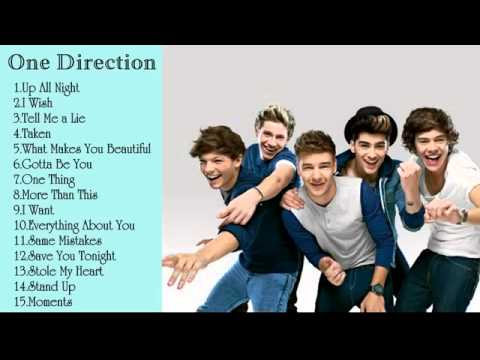 Best Song Of One Direction One Direction Greatest Hits Full Album 2015 One Direction Song Playlist