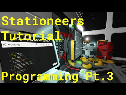 Stationeers Tutorial: Programming Pt.3 (Gas mixer) thumbnail