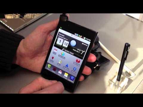 LG Optimus Vu: Impresiones y análisis preliminar | goponygo.com