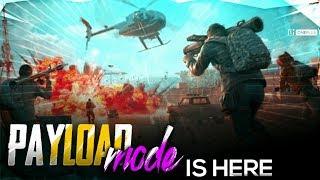 PUBG MOBILE LIVE | PAYLOAD MODE NEW UPDATE GAMEPLAY | SUBSCRIBE & JOIN ME