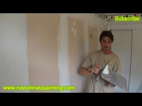 DIY Paint Over Vinyl Wallpaper Border Part 3