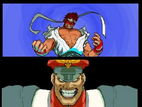Street fighter alpha 3 Evil Ryu vs Final M.Bison