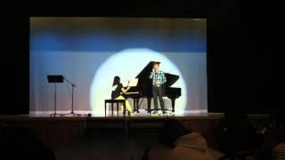 """絢香の「I believe」をライブで歌ってみました。 I sang Ayaka's """"I bel..."""
