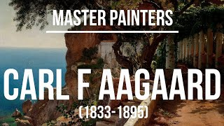 Carl Fredrik Aagaard (1833-1895) - A collection of paintings & drawings 2K Ultra HD Silent Slideshow