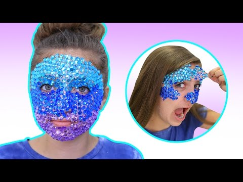 Full Face of RHINESTONES Challenge (in OMBRE) + REMOVAL!