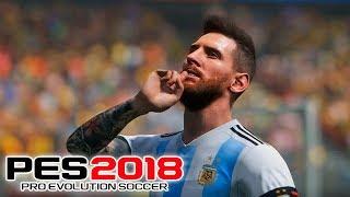 ARGENTINA vs ESPAÑA ¿La FINAL del MUNDIAL?   PES 2018 Fran MG