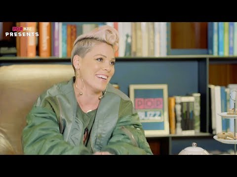 P!nk interview on Pop Buzz Presents 07122017