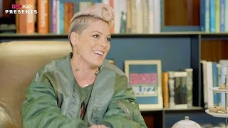 P!nk interview on Pop Buzz Presents (07-12-2017)
