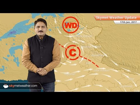 Weather Forecast for Jan 17: Snow in Kashmir, Himachal; Dry weather in South India