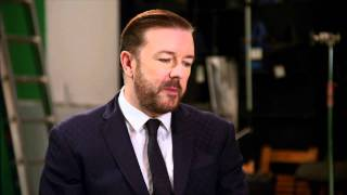 Ricky Gervais on hosting the Golden Globes