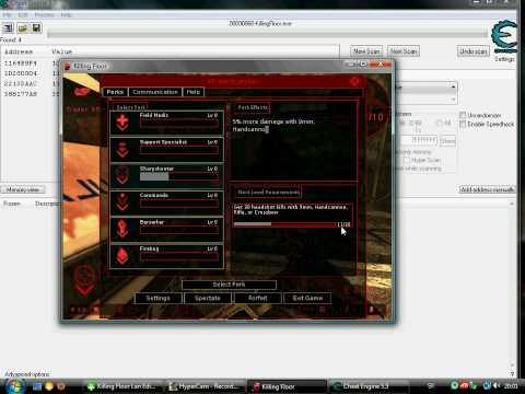Killing Floor Level 5 Perks Hacking