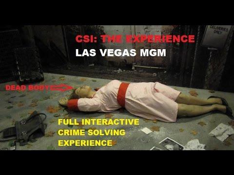 CSI: The Experience - Las Vegas MGM
