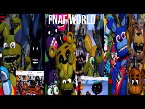 Fnaf world news and theories new secret character - YouTube