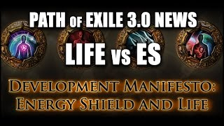 Path of Exile: MASSIVE Changes to Life vs ES Balance Coming in 3.0 Beta