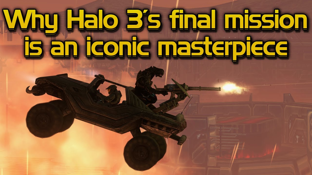 Why Halo 3's final mission is an iconic masterpiece