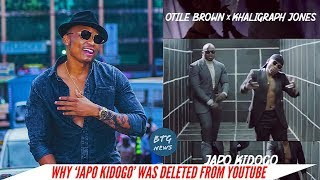 OTILE BROWN EXPLAINS WHY THE SONG FT KHALIGRAPH JONES WAS DELETED FROM YOUTUBE |BTG News