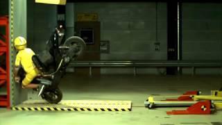 Краш тест Мотоцикла! Crash Test Motorcycle