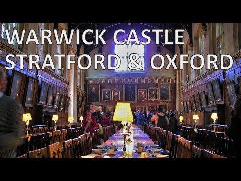 WARWICK CASTLE, STRATFORD & OXFORD - England