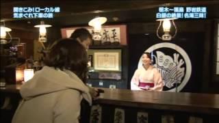 2015年2月16日にBSジャパンにて放送された旅番組「気まぐれ下車の旅」に...