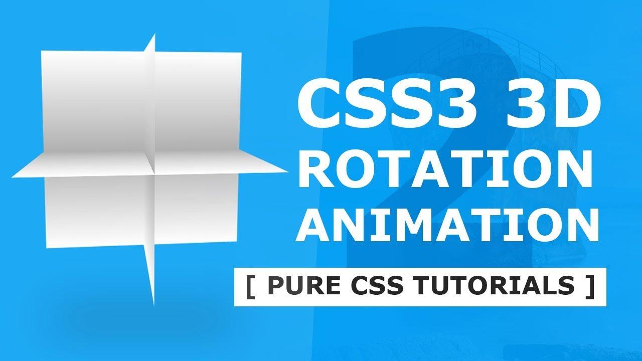 Css 3d animation