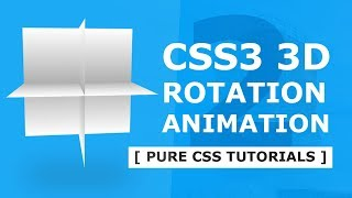 CSS3 3D Rotation Animation Effects 2 - Html CSS Animation Tutorial