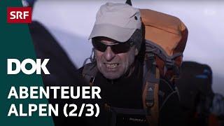 Skitour des Lebens Haute Route von Chamonix nach Zermatt Abenteuer Alpen 2 3 Doku SRF DOK