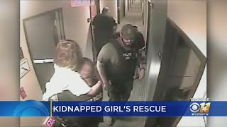 'We Got Her, We Got Her!': Video Shows Dramatic Rescue Of Michael Webb's 8-Year-Old Kidnapping Victi