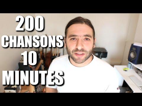 Apprendre 200 chansons en 10 minutes