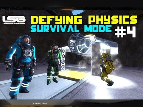 Space Engineers - Defying Physics Tazoo Logic SE5 - EP4