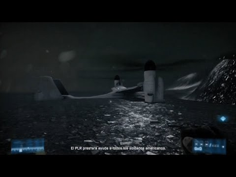 Battlefield 3 Campaign Out of the map - 2: Uprising (Hidden flying vehicle!)