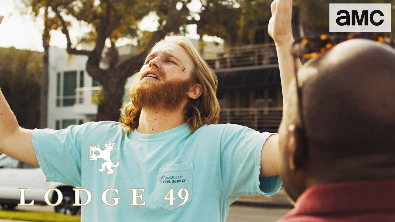 Download 'Dud's Near-Death Story' Talked About Scene Ep. 104 | Lodge 49
