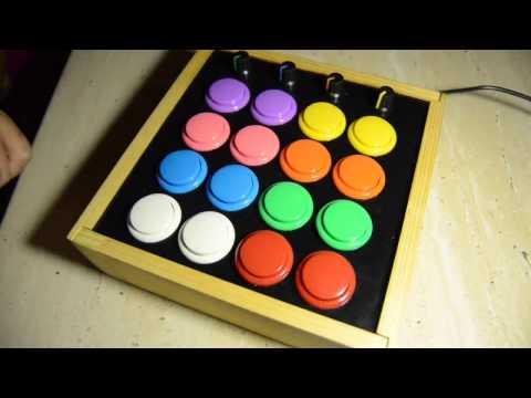 Build arduino MIDI controller with arcade buttons.