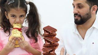 تحدي الشوكلاتة | sewar and the New Candy Series | Сборник видео про игры в челлендж съедобное как