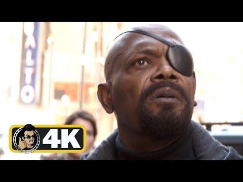 AVENGERS: INFINITY WAR Movie Clip - Captain Marvel End Credits Scene (4K ULTRA HD) thumbnail