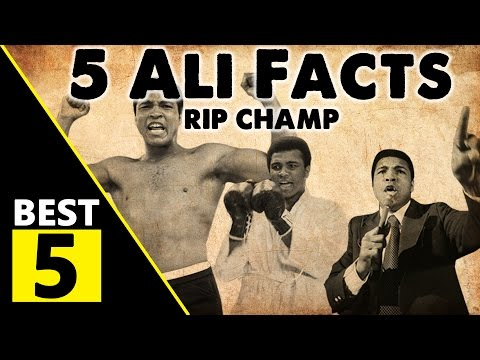 5 Muhammad Ali Facts