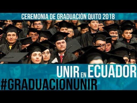 Ceremonia de Graduación de alumnos de Ecuador 2018 | UNIR ECUADOR