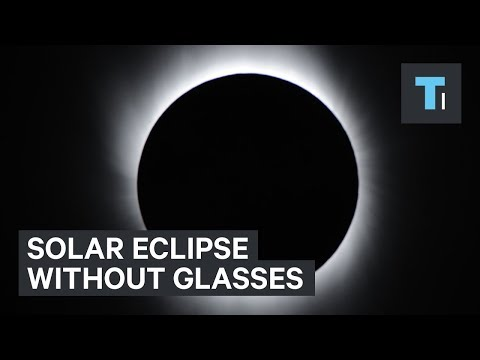 Thumbnail: How to watch the solar eclipse if you don't have special glasses