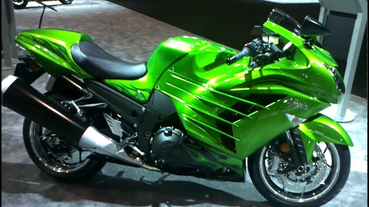 Mainland's first look at the 2012 Kawasaki ZX14R Ninja! - YouTube
