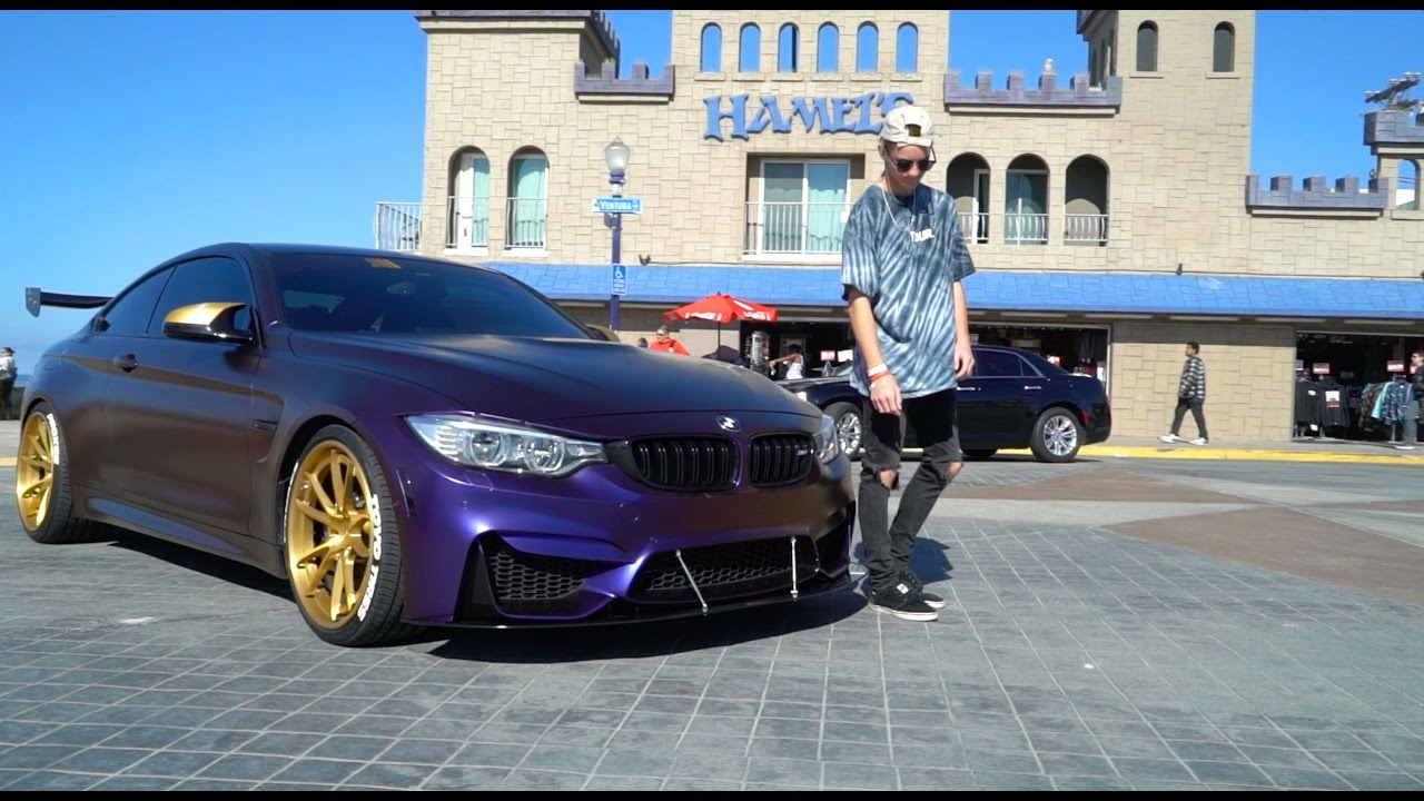 Tanner Fox Car Wallpaper Jakes Angeles Bmw M4 Extreme Transformation Youtube