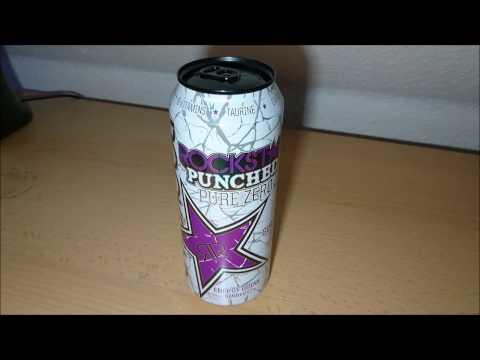 Energy Drink Review: Rockstar Pure Zero Punched Guava (UK) [German/Deutsch]
