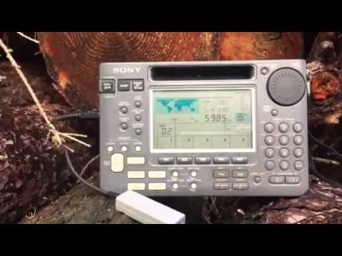 New Years Eve 2015 DXpedition: Myanmar Radio 5985 KHz Yangon