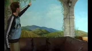 How to Paint Wall Murals : Composition Tips for a Wall Mural Painting