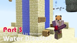 Minecraft Adventure Map - Sky Islands v2.1 - Water Disaster {5}