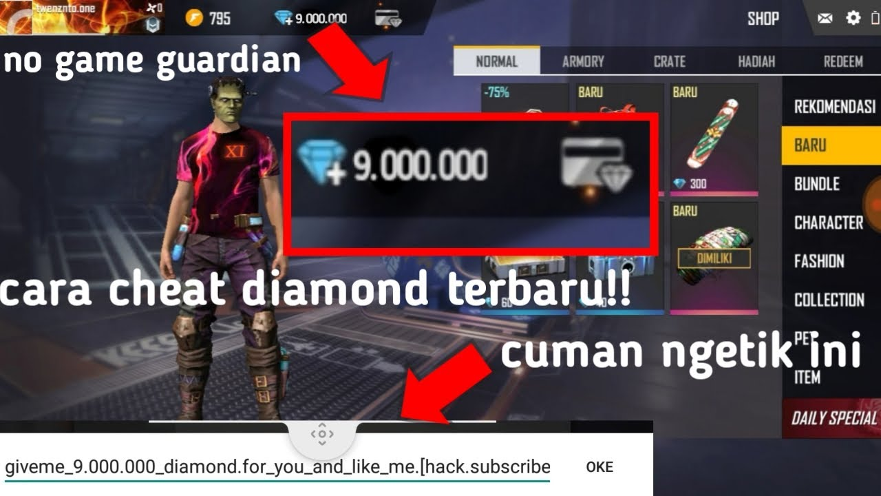 Terbaru Cara Cheat Diamond Free Fire Tanpa Aplikasi Auto Sultan Youtube