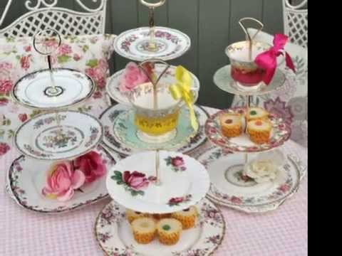 A Vintage China Afternoon Tea Party - Youtube