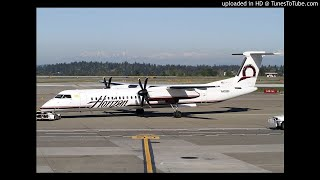 Richard Russell Talks to Air Control While Flying the Stolen Horizon Air Plane