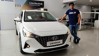 BS6 HYUNDAI VERNA SX 1.5 PETROL 2020    MOST DETAILED REVIEW    PRICING    FEATURES    EVERYTHING